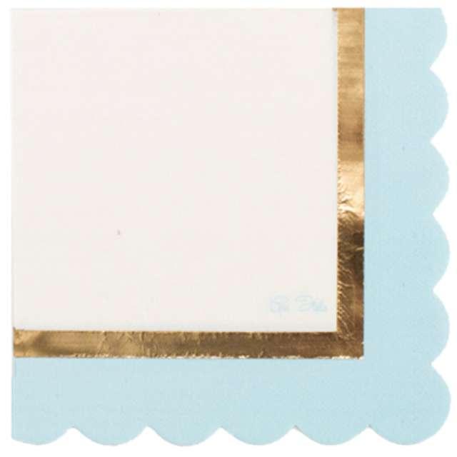 "Serwetki ""Chic Blue"", 33 cm, GIVI ITALIA, 16 szt"