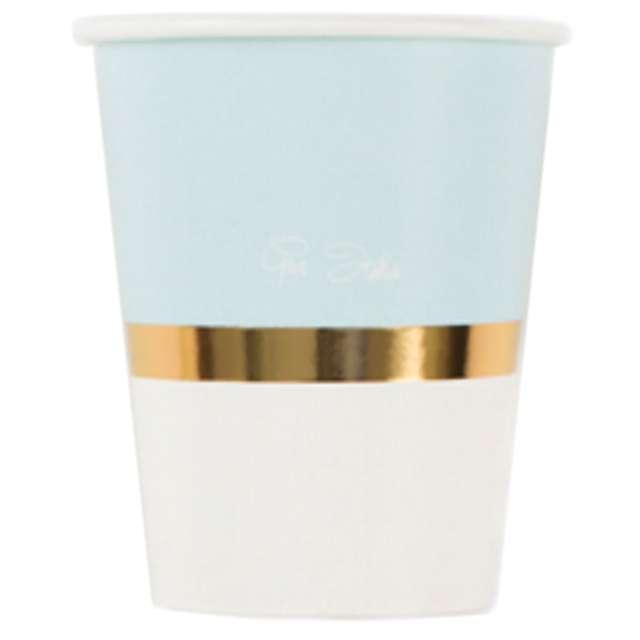 """Kubeczki papierowe """"Chic Blue"""", GIVI ITALIA, 250 ml, 8 szt"""