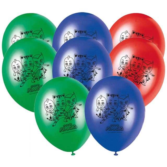 "Balony ""Pidżamersi - PJ Masks"", mix, PROCOS, 11"", 8 szt"