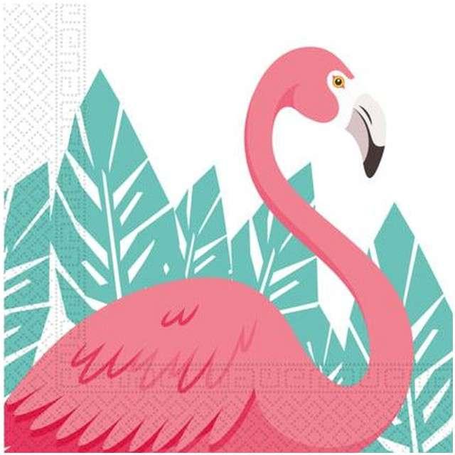 """Serwetki """"Flamingo"""", PROCOS, 33 cm, 20 szt"""