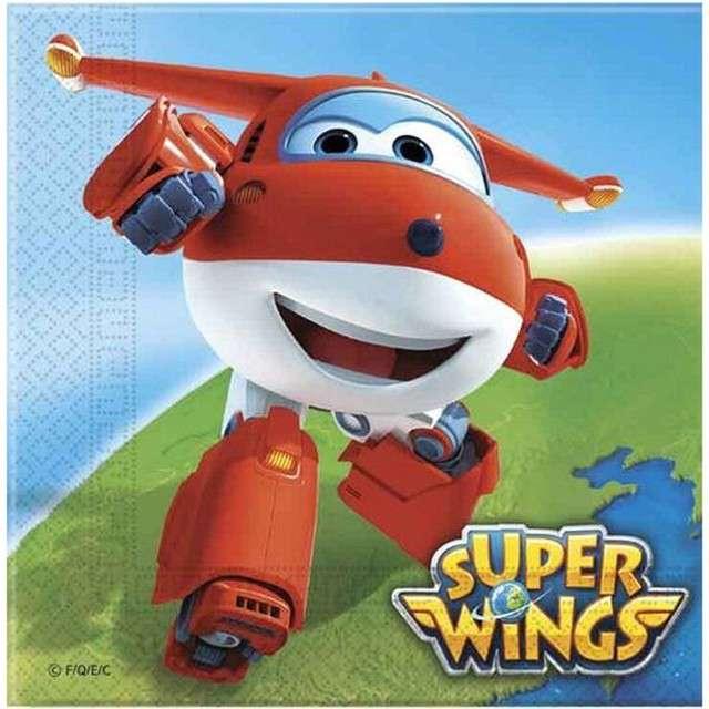 "Serwetki ""Super Wings"", PROCOS, 33 cm, 20 szt"