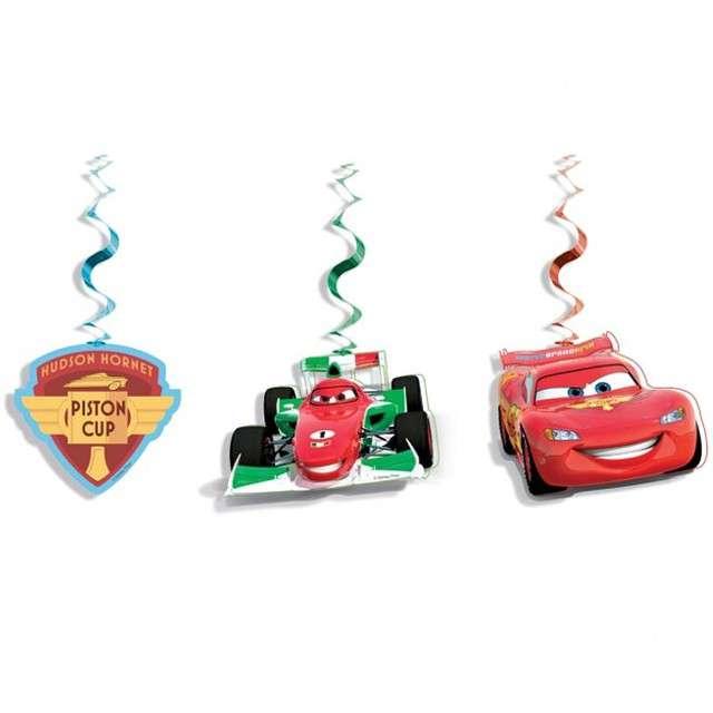 """Świderki wiszące """"Cars 3"""", PROCOS, 3 szt"""
