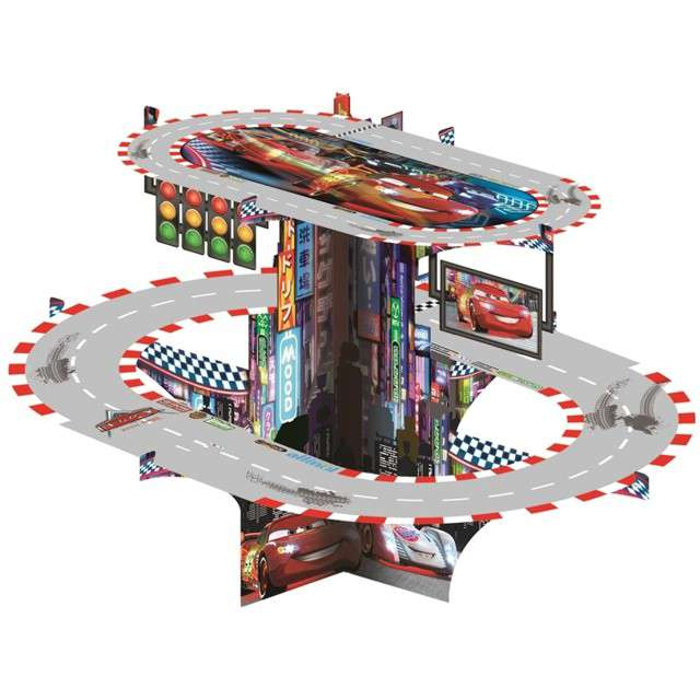 "Patera papierowa ""Cars - Auta"", PROCOS, 40 cm"