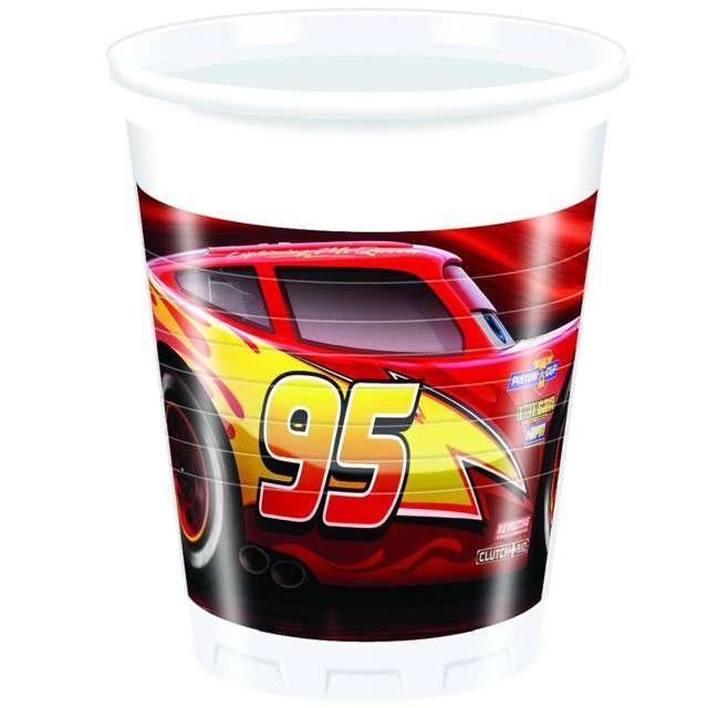 "Kubeczki plastikowe ""Cars The Legend Of The Track"", PROCOS, 200 ml, 8 szt"