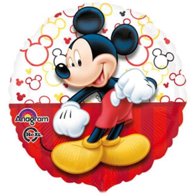 """Balon foliowy """"Myszka Mickey"""", AMSCAN, 17"""" RND"""