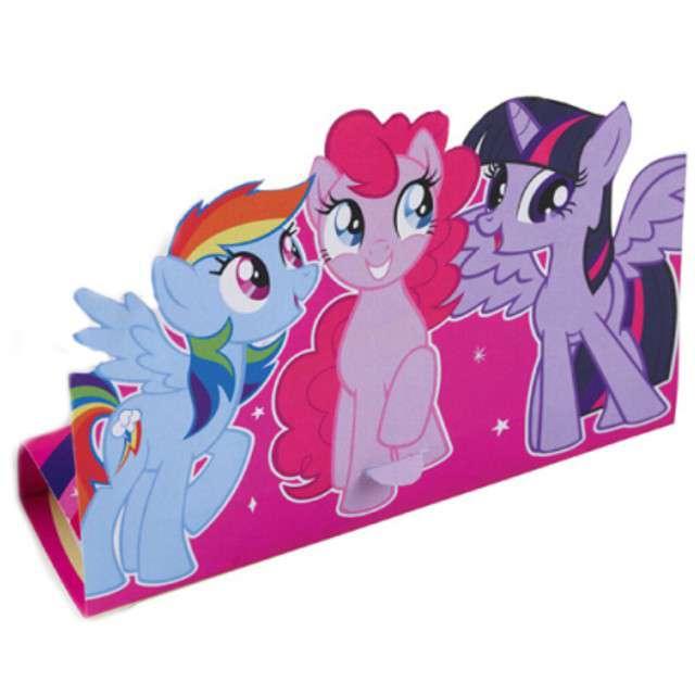 """Zaproszenia urodzinowe """"My Little Pony"""", AMSCAN, 8 szt"""