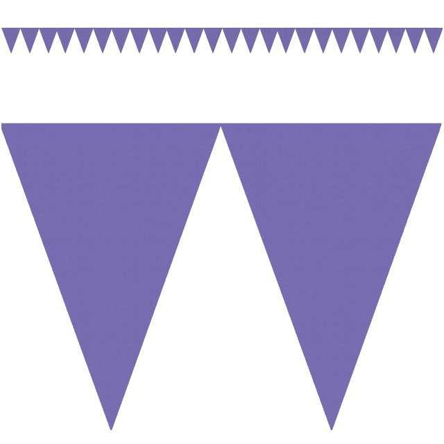 """Baner flagi """"Classic DIY"""", fioletowy, 450 cm"""
