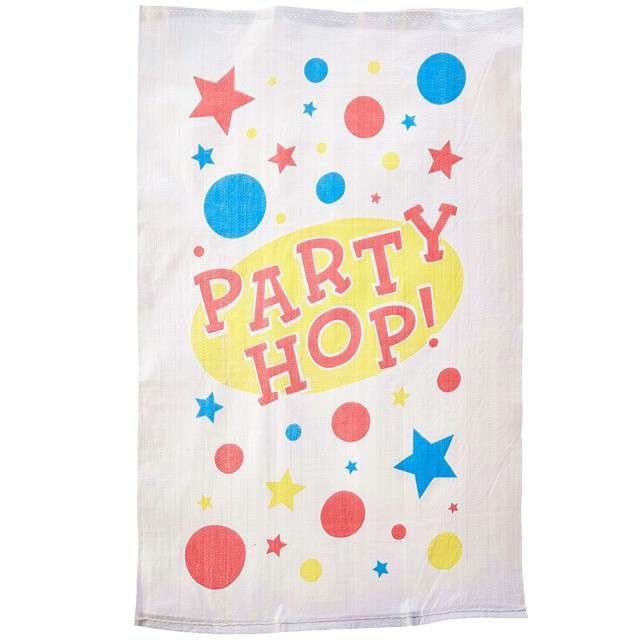 "Worek do wyścigów ""Party Hop"", AMSCAN, 6 szt"