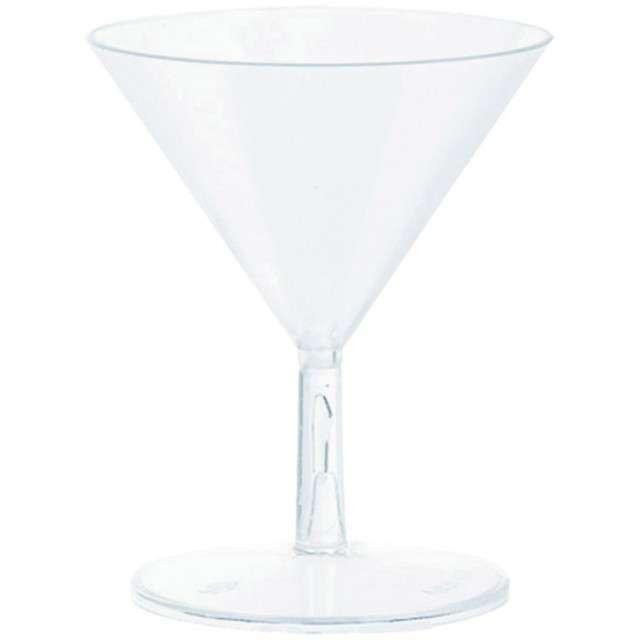 "Kieliszki jednorazowe ""Martini Mini"", AMSCAN, 59 ml, 20 szt"