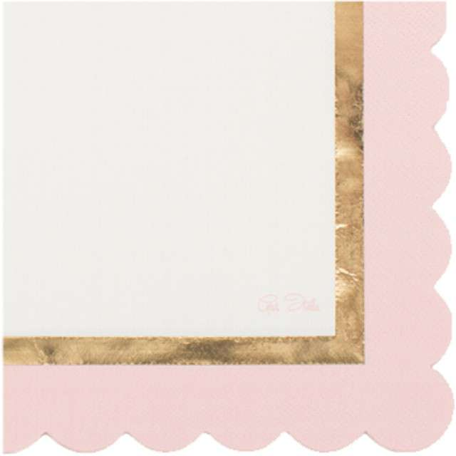 "Serwetki ""Chic Pink"", GIVI ITALIA, 33 cm, 16 szt"