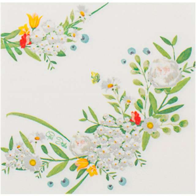 """Serwetki """"Garden Party"""", GIVI ITALIA, 33 cm, 16 szt"""