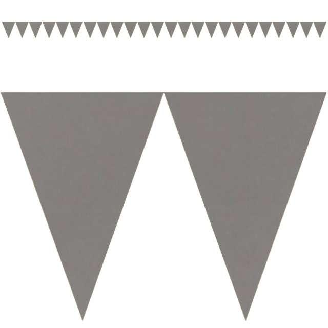 """Baner flagi """"Classic DIY"""", srebrny, 450 cm"""