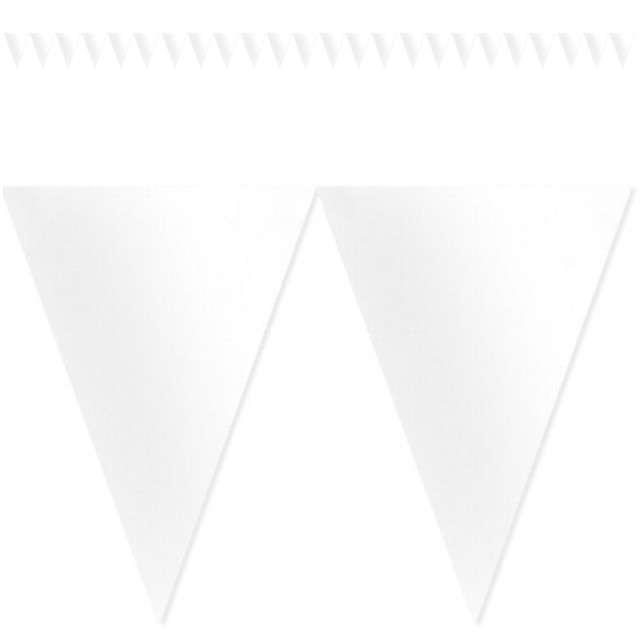 "Baner flagi ""Classic DIY"", biały, 450 cm"
