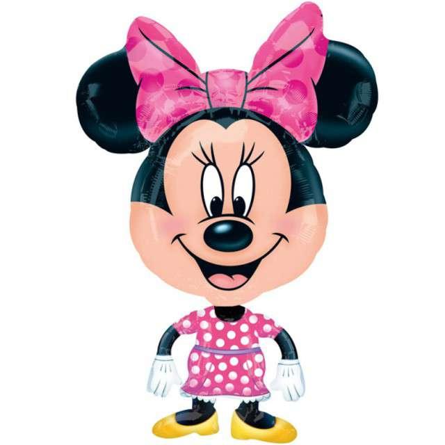 "Balon foliowy ""Myszka Minnie"", AMSCAN, 31"" AWK"