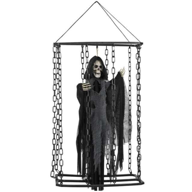 """Dekoracja """"Śmierć w klatce"""", BOLAND, 50 cm"""
