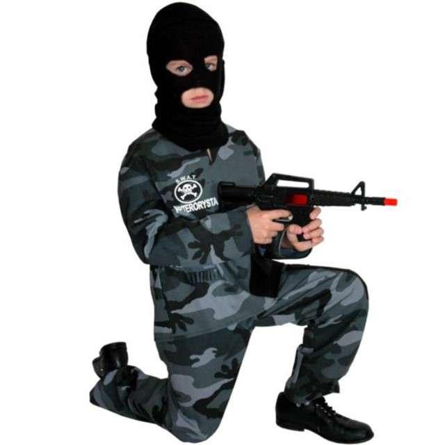 "Strój dla dzieci ""Policjant Antyterrorysta"", PartyTino, 134-140 cm"