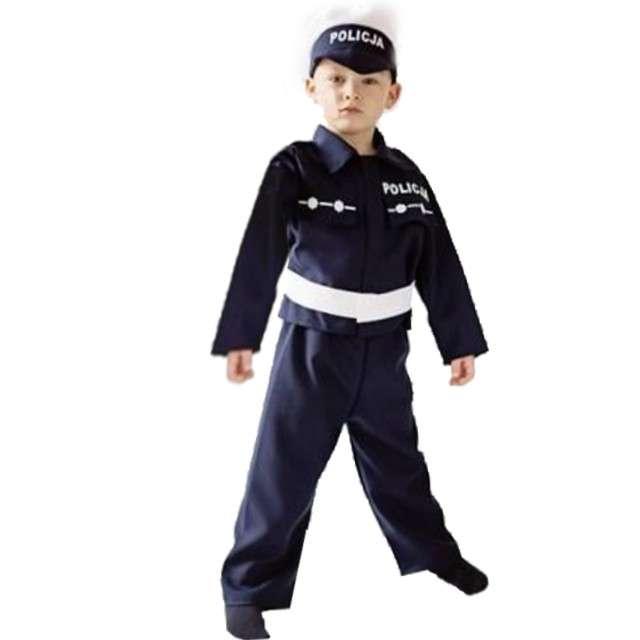 """Strój dla dzieci """"Policjant w mundurze"""", PartyTino, 134-140 cm"""