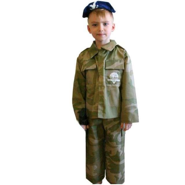 """Strój dla dzieci """"Żołnierz Amerykański"""", PartyTino, 110-116 cm"""