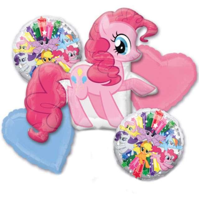 """Balon foliowy """"My Little Pony"""", AMSCAN, zestaw"""