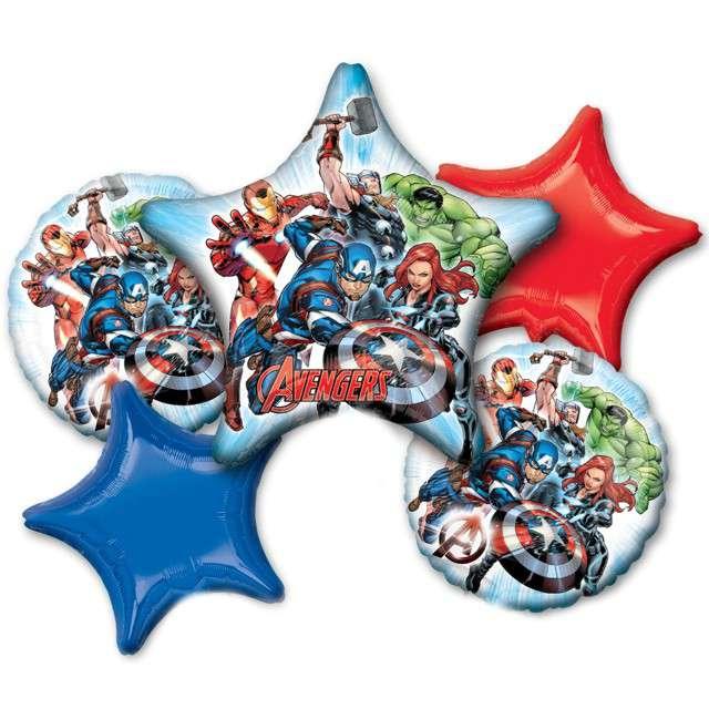 Balon foliowy Avengers AMSCAN zestaw