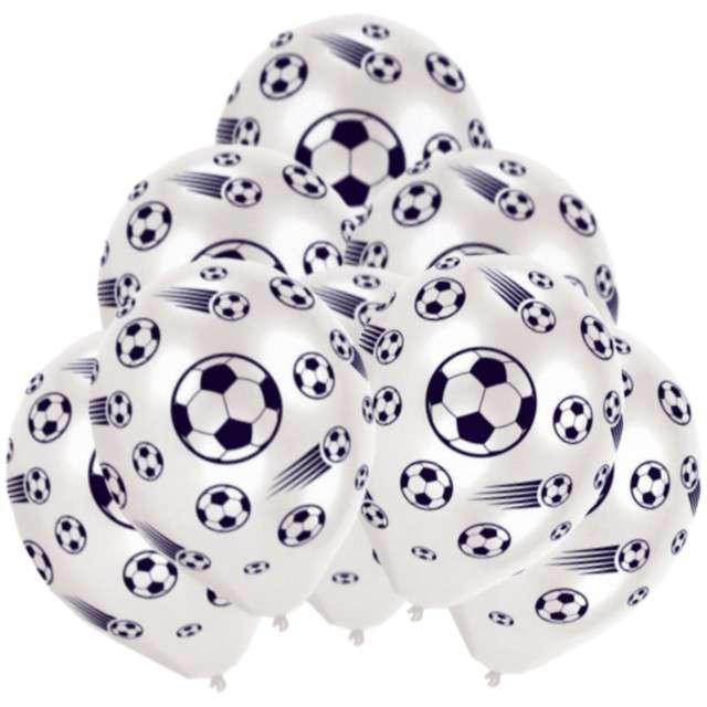 """Balony """"Piłka Nożna"""", AMSCAN, 10"""", 8 szt"""