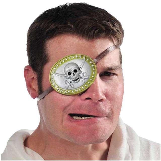"Opaska na oko ""Pirat Deluxe"", AMSCAN"