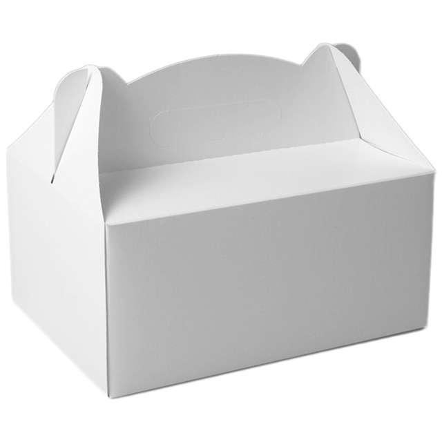 """Pudełko na ciasto """"Classic White"""", 5 szt"""