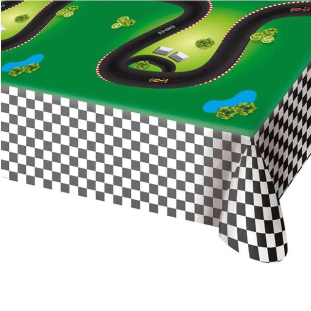 """Obrus foliowy """"Wyścigi Formula 1"""", FOLAT, 180 x 130 cm"""