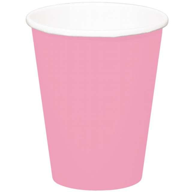 """Kubeczki papierowe """"Classic XL"""", różowe, FOLAT, 350 ml, 8 szt"""
