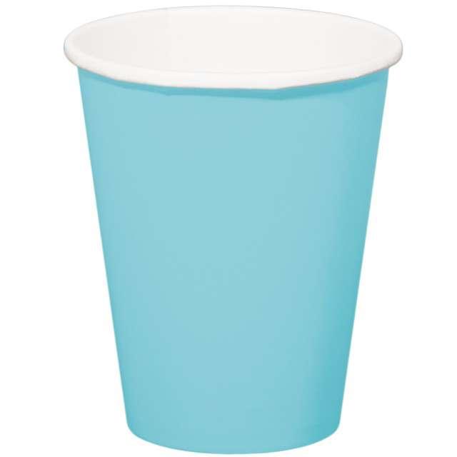 """Kubeczki papierowe """"Classic XL"""", błękitne, FOLAT, 350 ml, 8 szt"""
