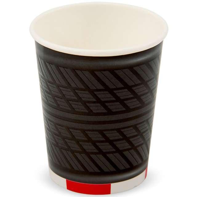 """Kubeczki papierowe """"Opony Wyścigowe XL"""", FOLAT, 350 ml, 4 szt"""