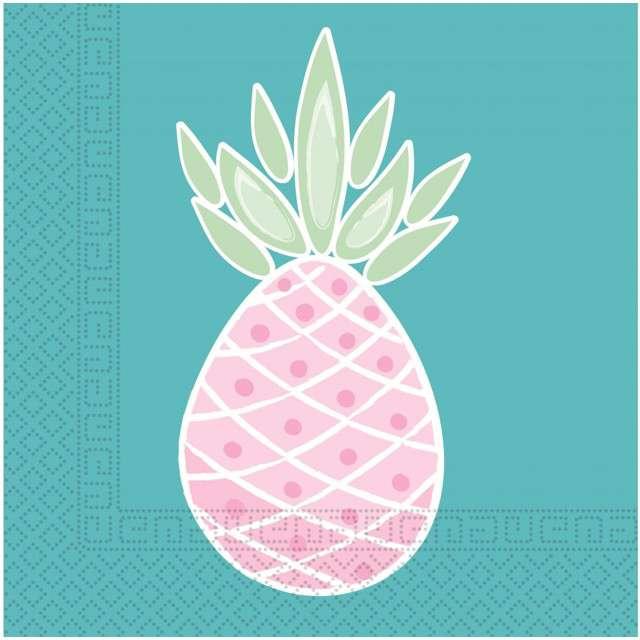 """Serwetki """"Ananas"""", PROCOS, 33 cm, 20 szt"""
