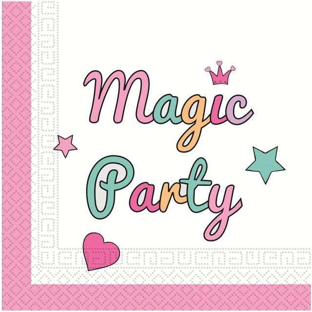 "Serwetki ""Magic Party"", PROCOS, 33 cm, 20 szt"