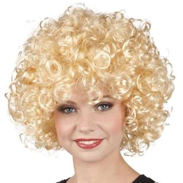 """Peruka party """"Afro Mega"""", blond, BOLAND"""