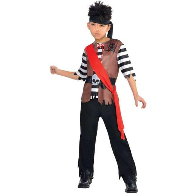 """Strój dla dzieci """"Kapitan Piratów"""", AMSCAN, rozm. na wiek 4-6 lat"""