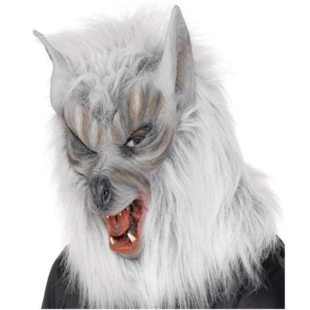 "Maska ""Wilkołak"", lateksowa, Smiffys"