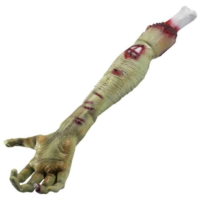 """Dekoracja """"Odcięta ręka Zombie"""", SMIFFYS, 58 cm"""