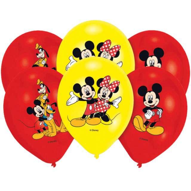 """Balony """"Myszka Mickey"""", mix, AMSCAN, 11"""", 6 szt"""