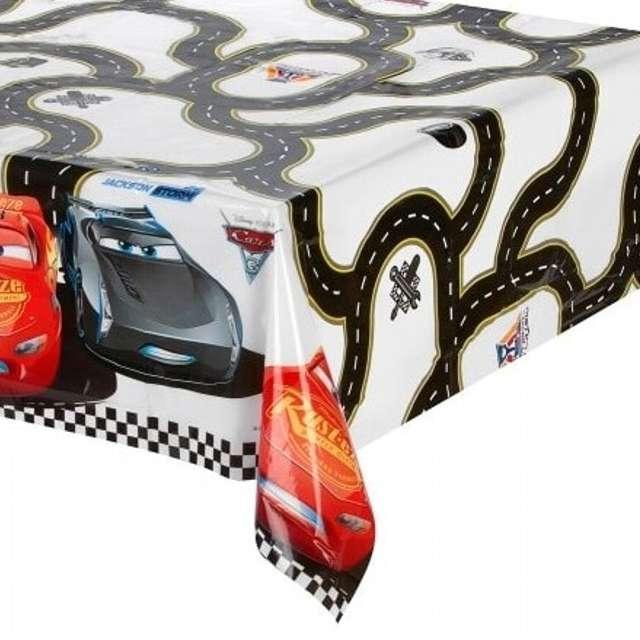 """Obrus foliowy """"Cars 3"""", PROCOS, 120x180 cm"""