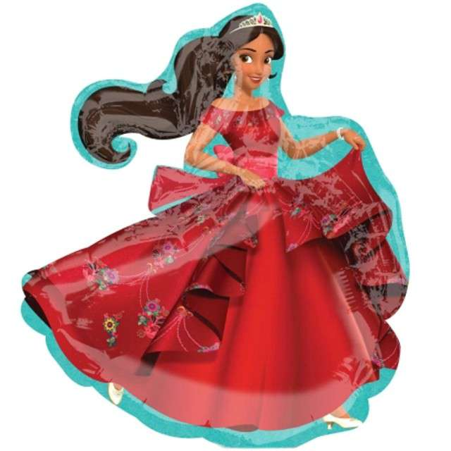 "Balon foliowy ""Elena of Avalor"", AMSCAN, 9"" SHP"
