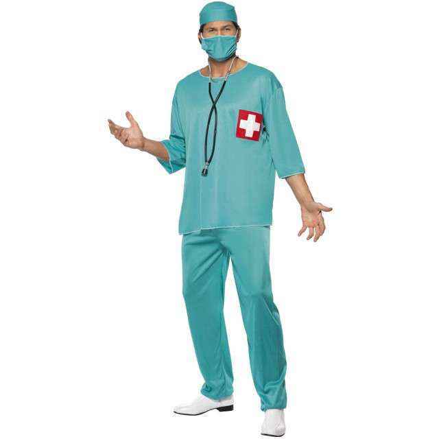 "Strój dla dorosłych ""Chirurg"", SMIFFYS, rozm. L"