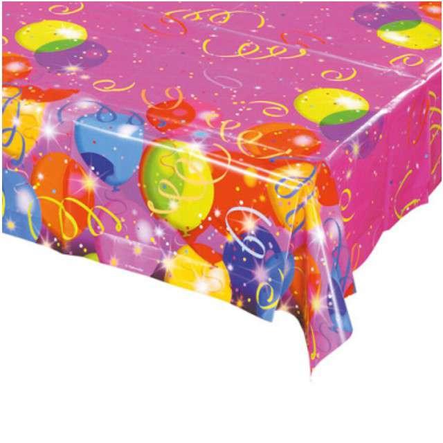 "Obrus foliowy ""Balonowe Party"", AMSCAN, 180 x 120 cm"