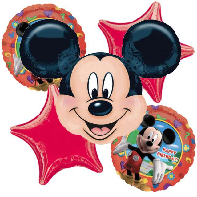 """Balon foliowy """"Myszka Mickey"""", AMSCAN, zestaw"""