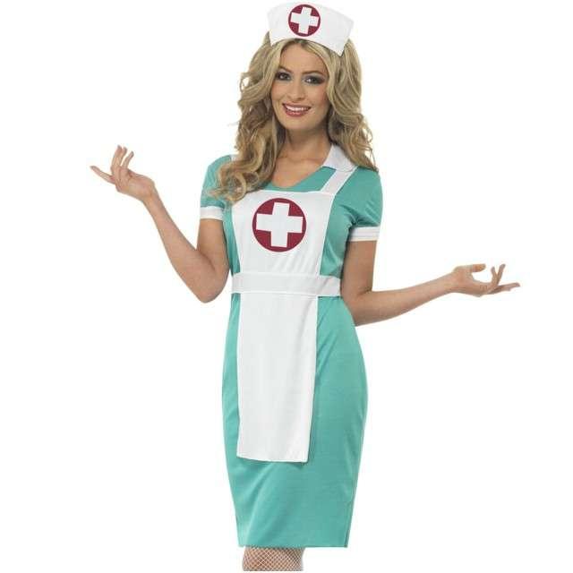 """Strój dla dorosłych """"Pielęgniarka"""", SMIFFYS, rozm. S"""