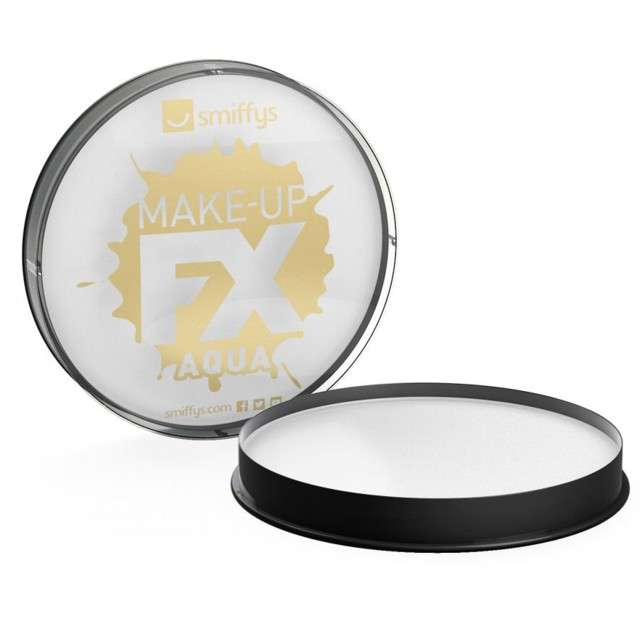 "Make-up party ""Farba do Makijażu"", biała, Smiffys, 16 ml"