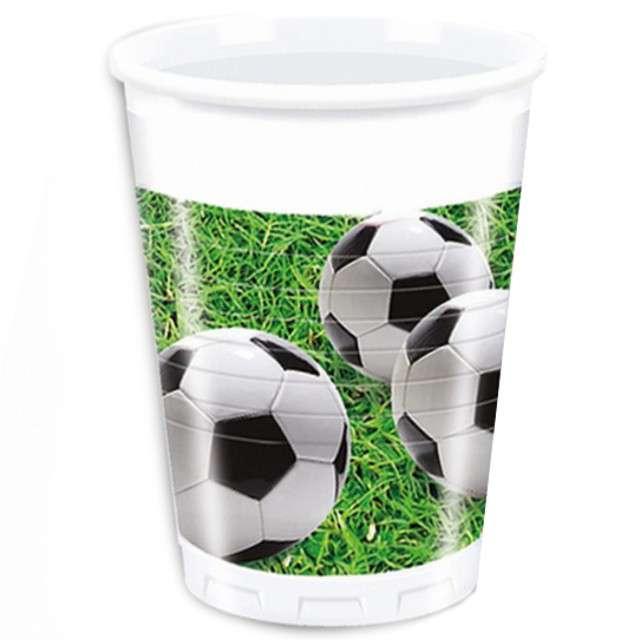 "Kubeczki plastikowe ""Kokliko Football Party"", PROCOS, 200 ml, 8 szt"