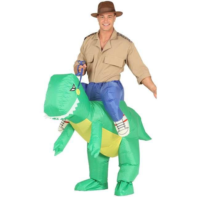 "Strój dla dorosłych ""Dinozaur"", GUIRCA, nadmuchiwany, rozm. M/L"
