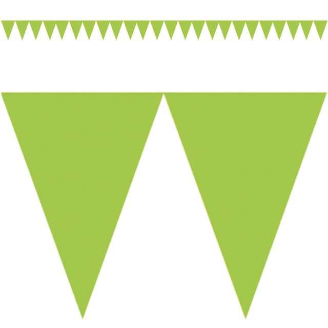 "Baner flagi ""Classic DIY"", zielony jasny, 450 cm"