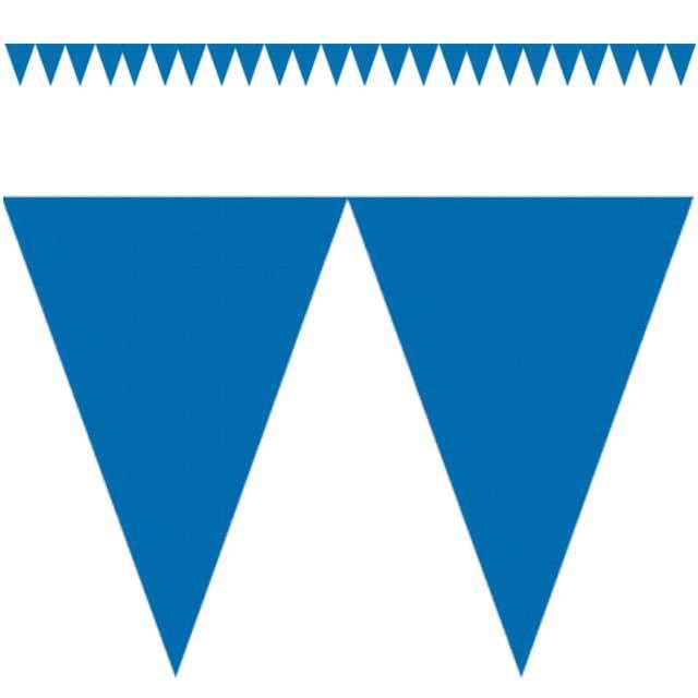 "Baner flagi ""Classic DIY"", niebieski, 450 cm"