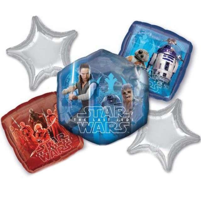 """Balon foliowy """"Star Wars - Ostatni Jedi"""", AMSCAN, zestaw"""